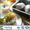 항공 음식을%s 유연한 기름을 바른 알루미늄 호일 콘테이너