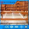 Decking galvanizzato saldato della rete metallica per racking del pallet