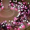 Vorhang-Zeichenkette-Beleuchtung des Weihnachtsdekorative Beleuchtung-romantische feenhafte Stern-LED helle für Feiertags-Hochzeits-Girlande-Partei