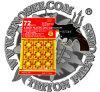El disco plástico capsula el precio bajo de 8 de los tiros fuegos artificiales del juguete