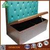 أريكة وحيد مستديرة مع جلد أو بناء لأنّ [دين رووم] أثاث لازم