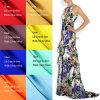 Tessuto di seta di seta puro di CDC stampato Digitahi di 100% per il vestito