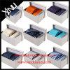 Os Mens Handmade vendem por atacado os laços tecidos seda de 100% ajustados