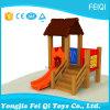 Sitio de niños, comedor, diapositiva de madera, diapositiva de madera de la diapositiva de la combinación del juguete del palo de rosa, diapositiva de desplazamiento de madera de la alameda de compras, diapositiva grande
