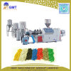 Plastique réutilisant la granulation du bois de biomasse de PVC WPC faisant la machine