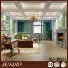 Painel de teto interior natural impermeável WPC para sala de estar