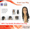 브라질 Virgin Hair Front Lace Wigs (6Inch-Body 파)