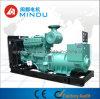 Abrir Type 350kw Diesel Generator com o depósito de gasolina 24hours