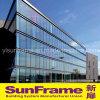 De Gordijngevel van het Glas van het Profiel van het aluminium Zonder Frame
