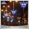 Decoração para luzes montadas Pólo ao ar livre do Natal da rua