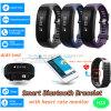 Bracelet intelligent de moniteur du rythme cardiaque de Bluetooth avec l'étalage H28 d'OLED