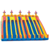 子供の膨脹可能なおもちゃ(JS4040)のための膨脹可能で美しい警備員の弾力がある城