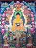 Rebgong Thangkas Buddha Shakyamuni