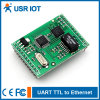 RJ45/Ethernet Module (USR-TCP232-D)에 연속되는 Uart