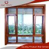 De houten Gordijnstof van het Glas van het Profiel van het Aluminium van de Korrel/het Afbaarden/schuine stand-Draai Venster