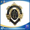 Medaglia lucida di rivestimento dell'oro del metallo su ordinazione per onore