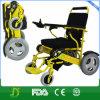 Motor da C.C. da cadeira de rodas da potência com pneumáticos novos