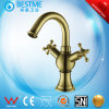 金カラー浴室(BM-B14503L)のための真鍮水洗面器のミキサー