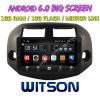 Witson 10.2  Grote Androïde 6.0 Auto van het Scherm DVD voor Toyota RAV4 2008