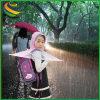 Handfreier Regen-Mantel-Deckel