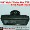 2017 de beste Zwarte doos van de Auto van de Visie van de Nacht 3.0inch met Camera dvr-3014 van het Streepje 2.0mega
