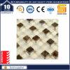 Bianco e mosaico di cristallo di vetro di pietra Gss1024 del Brown