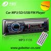 Coche audio MP3 del coche con el precio bajo portuario de radio teledirigido MP3-1135 de Am/FM USB/SD Bluetooth