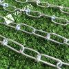 Double chaîne en acier de Knottet de boucle galvanisée par DIN5686
