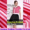 Organza 16mm напечатанный цифров Silk для ткани одежды