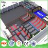 Gran Salto de trampolín de Boucing interior del parque de equipos