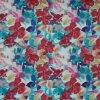 Élevé-densité PVC/PU Flower Printing Polyester Fabric (KL-03) d'Oxford 600d