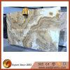 Plak de van uitstekende kwaliteit van het Onyx van Cappuccino's voor Countertop/de Bovenkant van de Ijdelheid