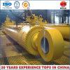 Único cilindro hidráulico ativo para a construção