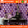 Papel de parede de vinil PVC lavável com design colorido (YS-191005)