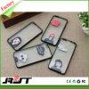 Ultra delgado de cristal transparente TPU suave caso del teléfono móvil con la impresión para el iPhone