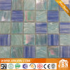 Mosaico de vidro da fantasia dourada do banheiro dos modelos novos (H448002)