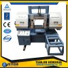 Herstellende hohe Präzisions-horizontale Ausschnitt-Band-Metallsawing-Maschine für Verkauf