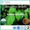 Horny Goat Weed/Epimedium, epimedium extrait, l'icariine 98 % de poudre d'Epimedium extrait