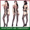 여자를 위한 새로운 디자인 검정 레이스 Crotchless 섹시한 Sleepwear