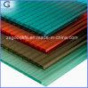 Largura Uv-Protegida da folha 1220mm do policarbonato da Multi-Parede