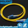 Sc Patchcord к желтому цвету FC двухшпиндельному однорежимному 3.0mm