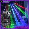 Sistema mobile di esposizione della luce laser della testa 4W RGB della fase del DJ