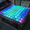 10 * 10 Pixel Acrylique RGB LED Light LED Dance Floor Tiles