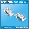 пряжка 201/304/316 кольцевания Уха-Lokt нержавеющей стали для связывать кабеля