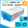 Shi-2000W-24V/48V-220V 21.6~32VDC +RS-485/RS-232 Zonne van de Omschakelaar van het Net