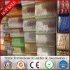Высокое качество оптовой продажи фабрики PU кожаный