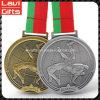 Kundenspezifische Metallringende Medaille mit Förderung