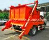 6000L brazo oscilante camión de basura rodamiento vehículo sanitario