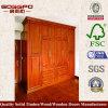 Precio justo de madera del dormitorio armario (GSP9-003)