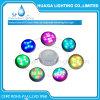 Luz subacuática ligera llenada resina de la piscina de la iluminación del LED LED
